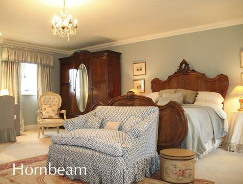 Hornbeam; A grand double room at Mole End B&B